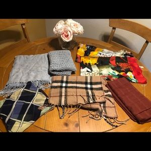 Lot of 7 Scarves / Wraps